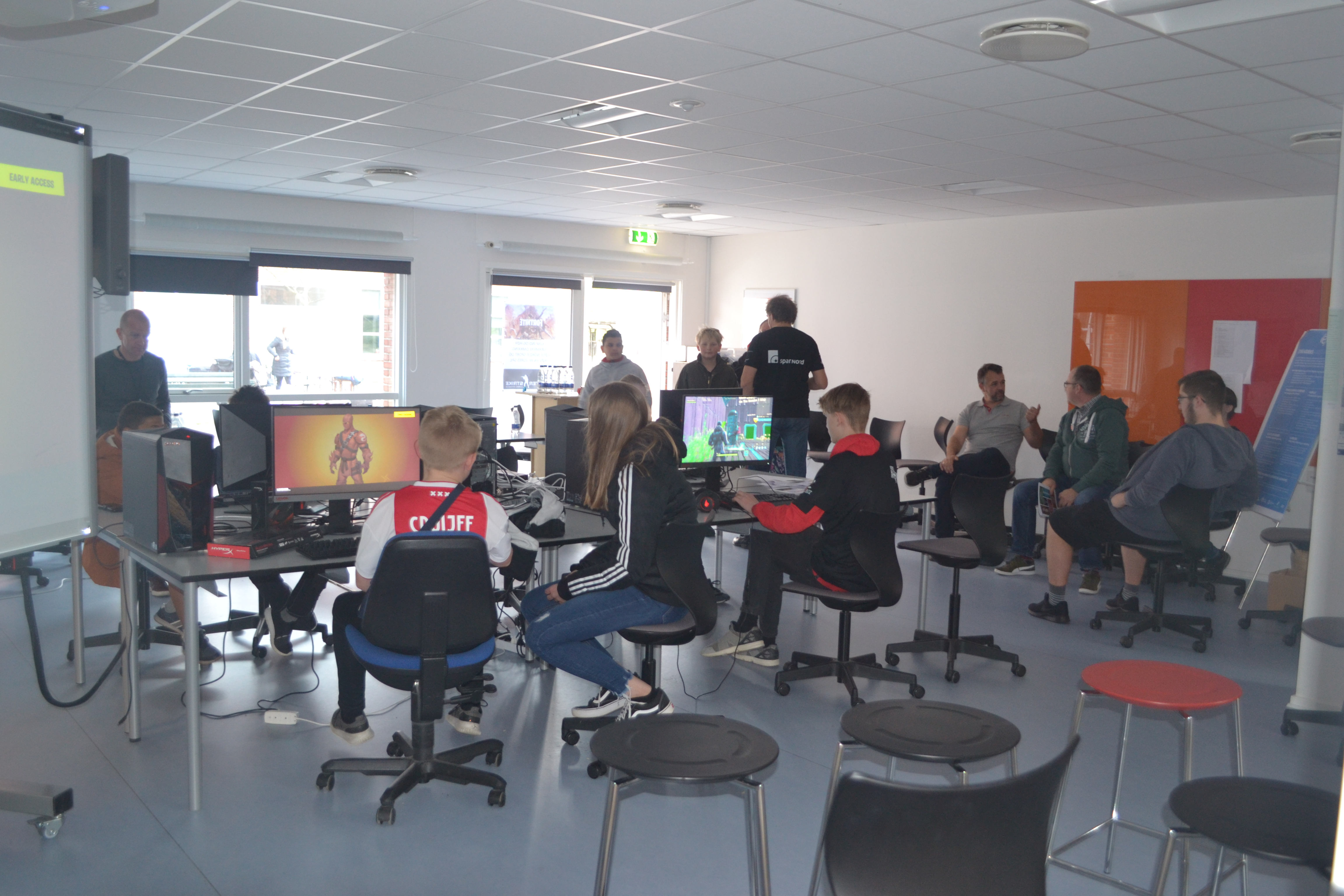 Computerspil (Fortnite) hos Center for Dansk og Integration